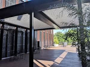 Louvres Melbourne Deck Hotel Roof Top bar Ultimate Louvre P1 St Kilda scaled