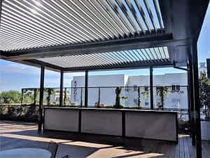 Louvres Melbourne Deck Hotel Roof Top bar Ultimate Louvre P2 St Kilda scaled