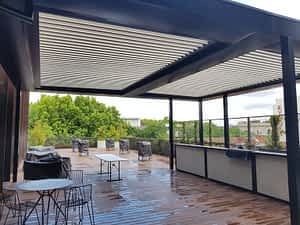 Louvres Melbourne 4 Ultimate Louvre Deck Hotel Roof Top bar St Kilda scaled