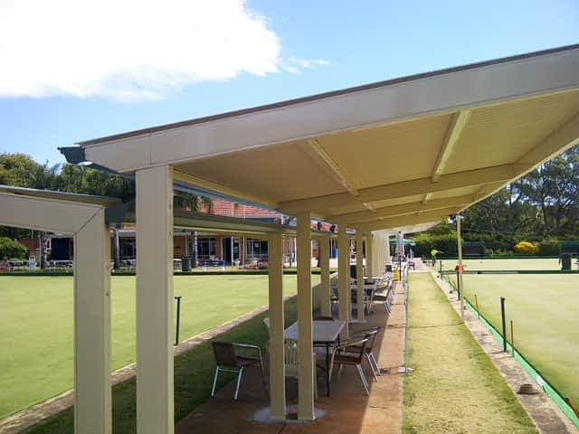 Louvres Melbourne Bowls club green shelter p3 3