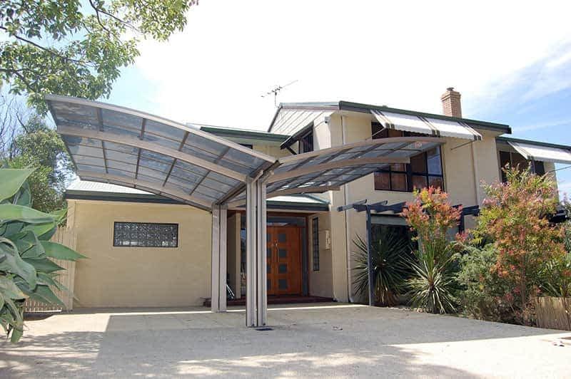 Louvres Melbourne Cantaport double carport freestanding 3