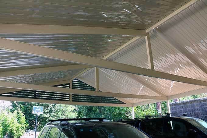 Colorbond Cable Carport - Totally Outdoors