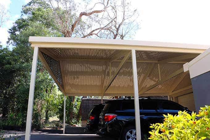 Colorbond Carport - Totally Outdoors