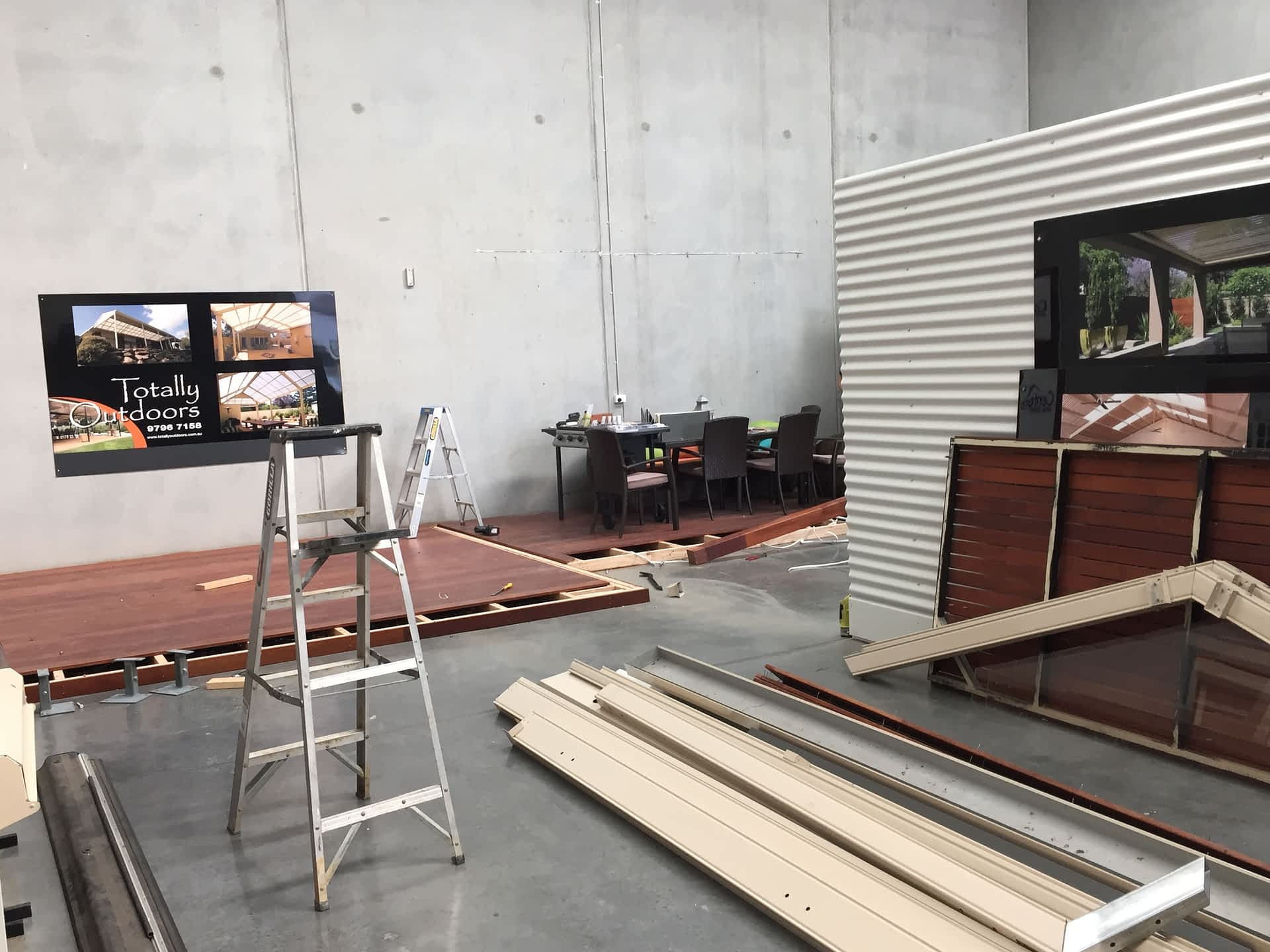 Building New Display Centre