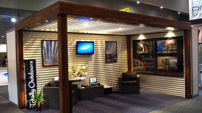 Louvres Melbourne Timber Louver Roof Display p1 7