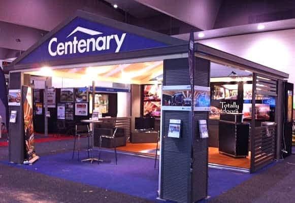 HIA Home Show 2012 - Centenary Display by Totally Outdoors