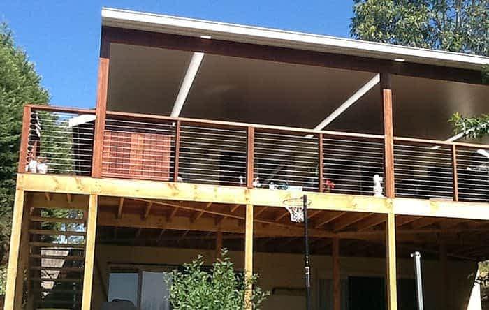 Louvres Melbourne solarspan verandah and deck eltham 3