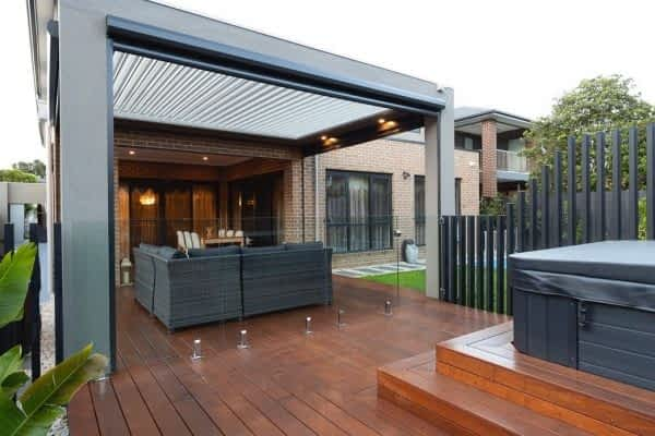 Ultimate Louvre Room - Bulkheads with Blinds - Melbourne