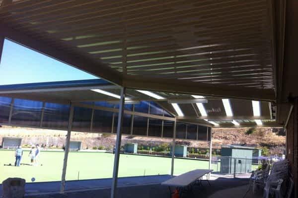 2 Colorbond Victory Gable -Berwick Bowling Club - Berwick
