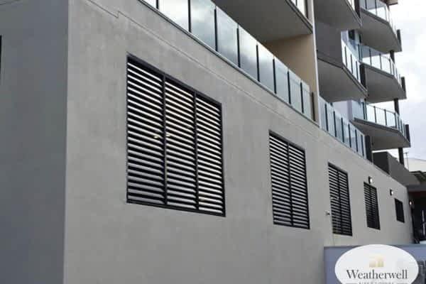 Aluminium Shutter - fixed louvre style - Australia